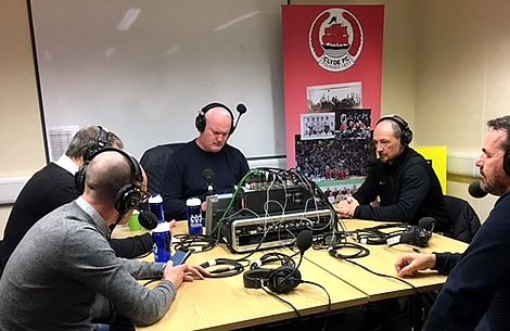 Clyde United Feature on BBC Radio